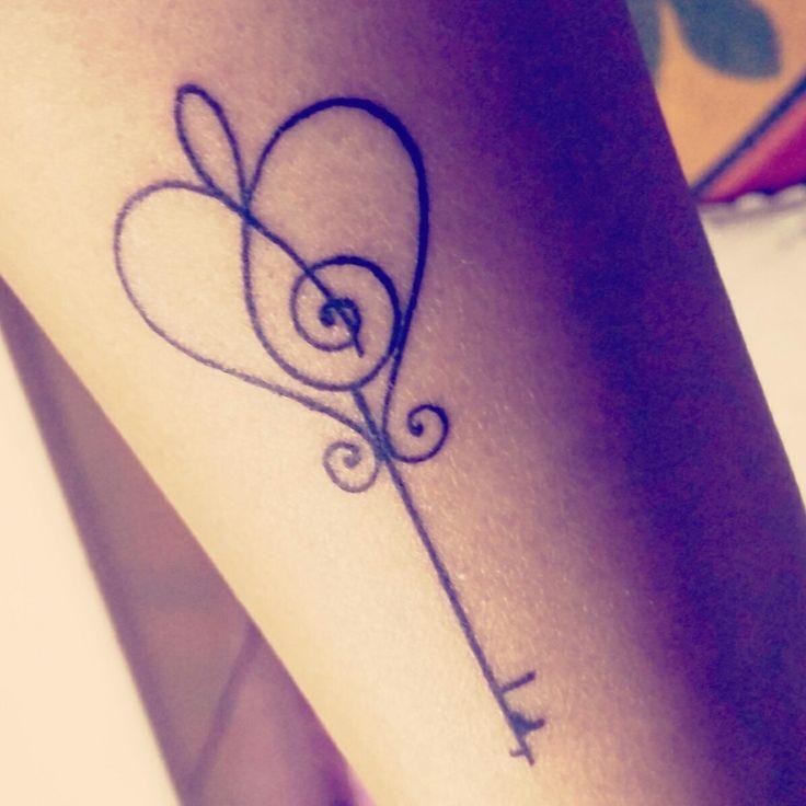 Finally got my tattoo! <3 # music love