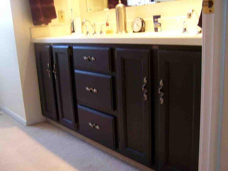 Painted Bathroom Cabinets Ideas