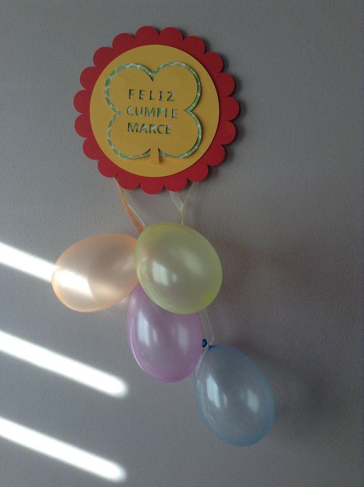 decoracion feliz cumpleaños