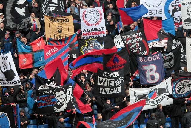 Holmesdale Fanatics as taken by Neil Everett #cpfc