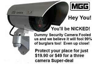 Search Dummy security cameras for sale. Views 1111.