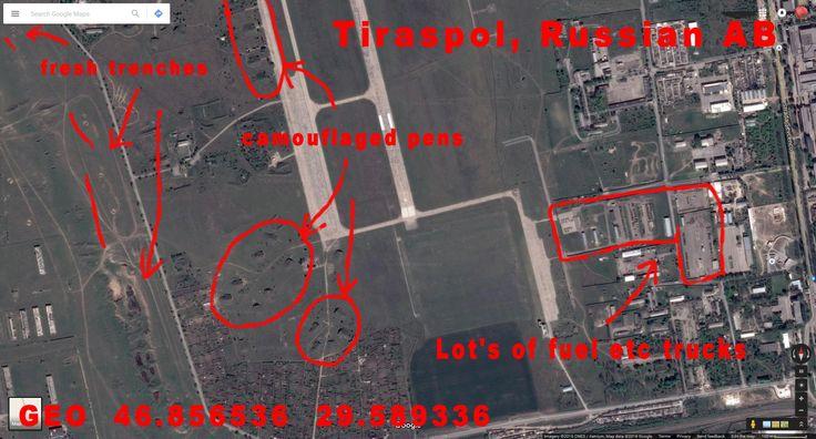 Tiraspol, Russian AB in Moldova.