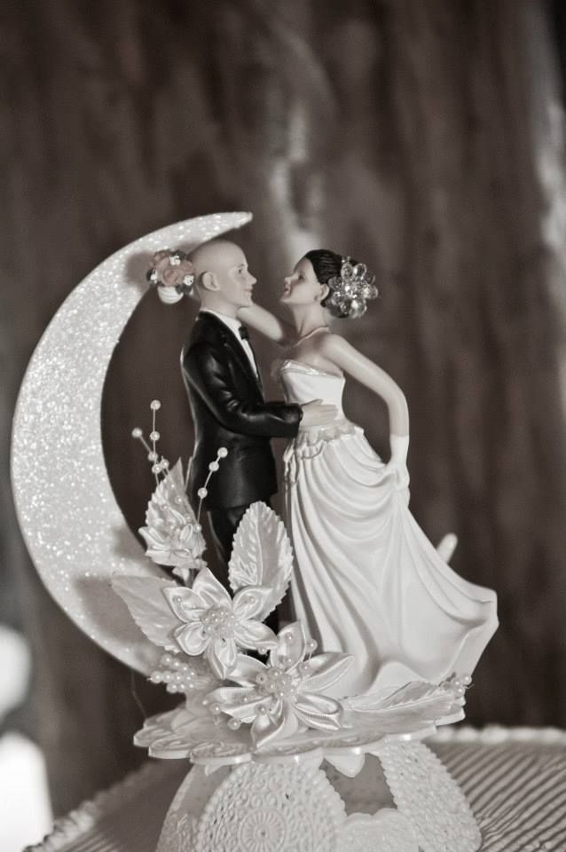wedding cake toppers bald groom 17 best images about my real wedding on 26387
