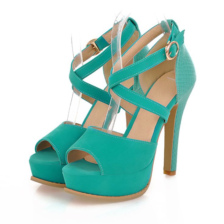 Wholesale Peep toe ankle shoes fashion sandals for women Z-LS-802 - Lovely Fashion