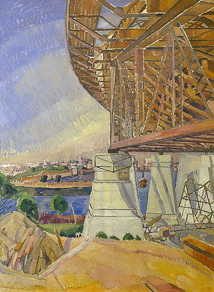 Grace COSSINGTON SMITH | The curve of the Bridge, 1928-9, National Gallery of Australia