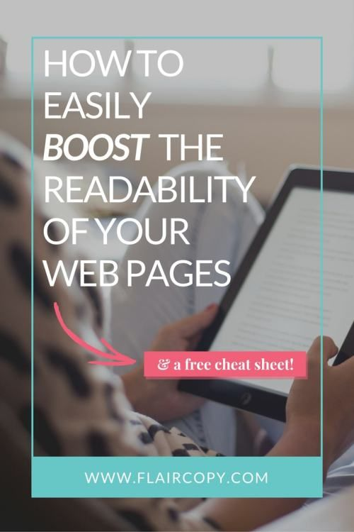 How to Easily Boost the Readability of Your Web Pages