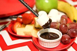 Easy Chocolate Fondue Recipe - Kraft Recipes