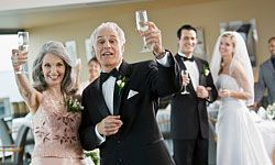 Rather than trying to write an entirely original toast, why not build your speech around a quote from a noted figure? A timeless quote keeps guests engaged and staves off boredom, and you'll only need to add a few heartfelt words of your own to create the perfect toast. 10 Short and Sweet Quotes to Toast at a Wedding