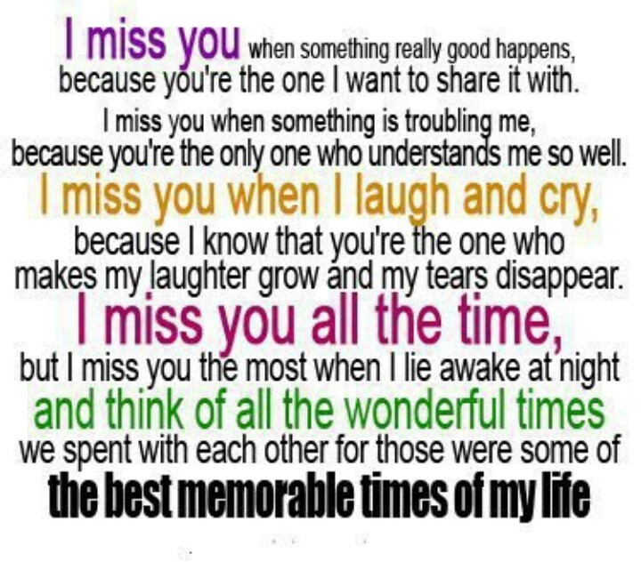 I Miss You Quotes Cute: I Miss You! Cute...