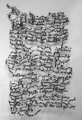 handwritten stitches - I LOVE this!!! now where do I begin?