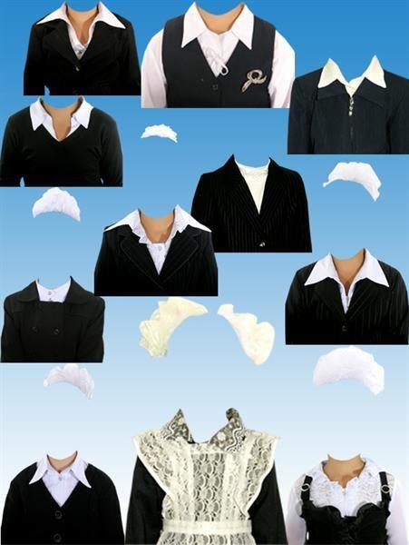 Школьные костюмы для фотошопа