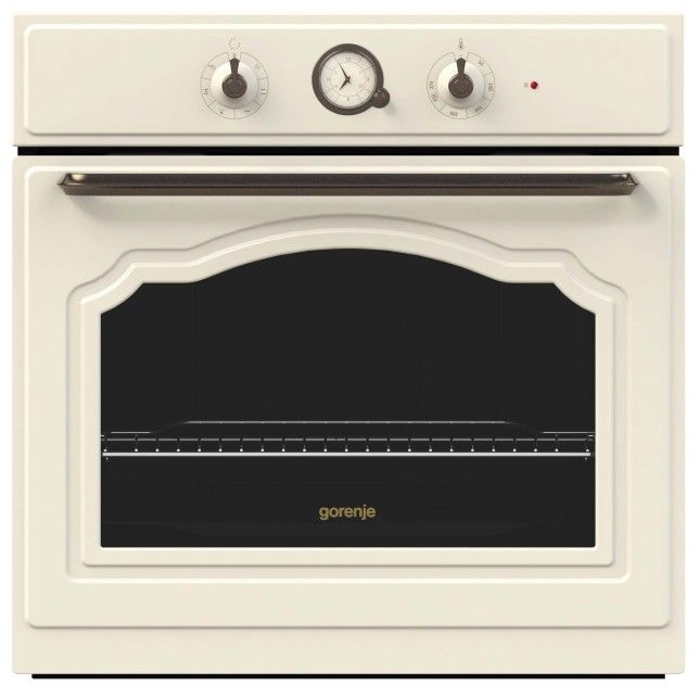 La cavità del forno della Linea Classico si distingue per il design