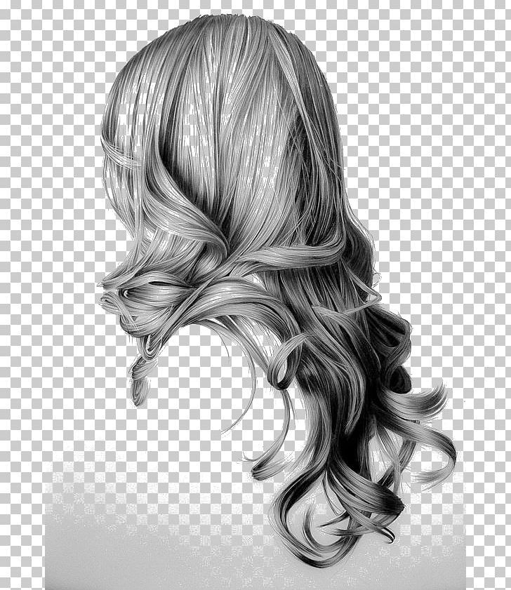 Drawing Hairstyle Long Hair Sketch Png Art Artist Art Museum Black And White Black Hair In 2020 Hair Sketch How To Draw Hair Drawings