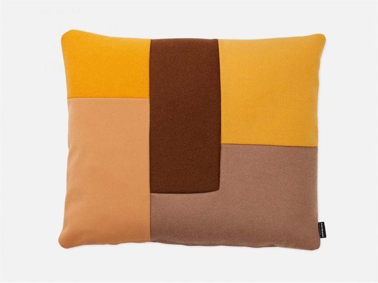 Poduszka Brick żółta — Poduszki Normann Copenhagen — sfmeble.pl