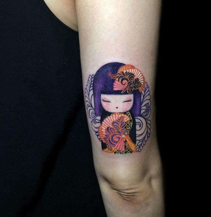 Chikako kimmidoll  #tattoo #inked #nadink #kimmidoll