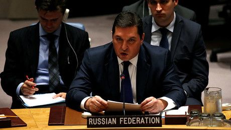 """Moscow promotes joint Russia-China plan instead of US attempts to 'strangle' N. Korea at UNSC https://tmbw.news/moscow-promotes-joint-russia-china-plan-instead-of-us-attempts-to-strangle-n-korea-at-unsc  Moscow has dismissed US-led calls at the UN Security Council to introduce new sanctions over Pyongyang's latest ballistic missile test, calling instead, for more """"creative"""" diplomacy, citing the joint proposal by the Russian and Chinese leaders Tuesday.Describing the North Korean ballistic…"""
