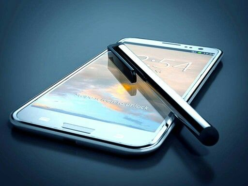 Phone and stylus