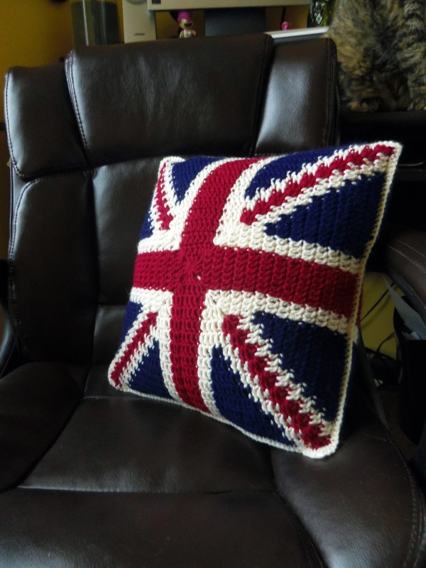 Union Jack Pillow!