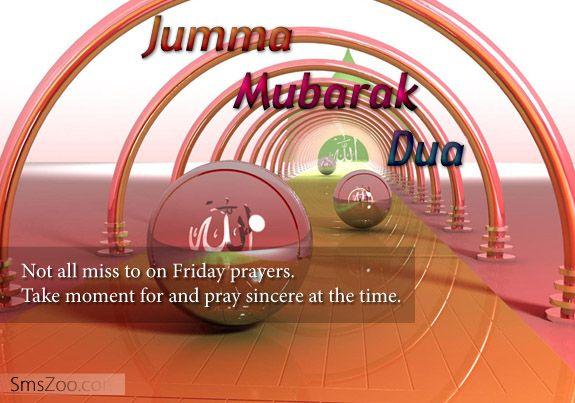 Jumma Mubarak Dua Sms Collection