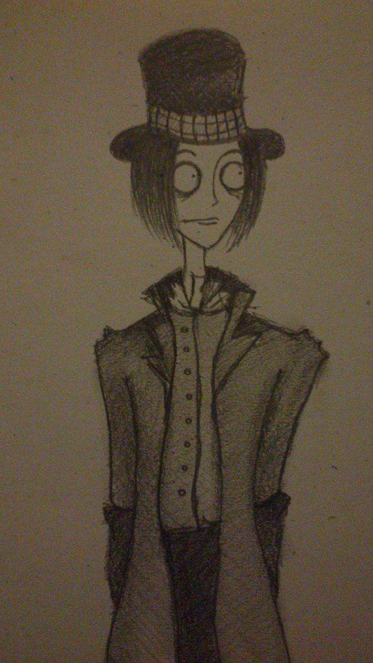 ~ Willy Wonka átdolgozás :D ~Tim Burton style