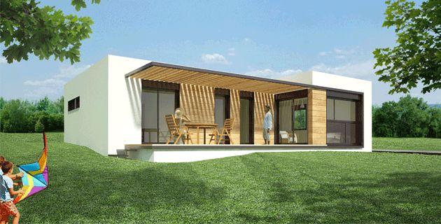 Casas modulares | Casas Prefabricadas - Modelo 2 - 4 DORMITORIOS 2 BAÑOS/ 107 m2