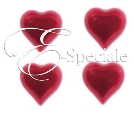 Adesivi Cuore Perla (conf. 24pz) - Prodotti per Matrimonio - Bomboniere e Decori - Adesivi - accessori e gadget per matrimoni e feste - E-speciale