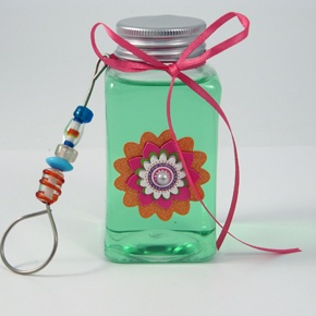 DIY scented bubbles - so cute!