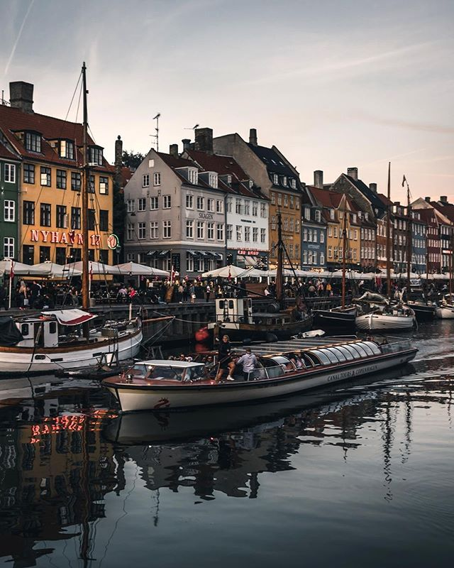 This Old Part Of Copenhagen Is Full Of Charm With A Bustling