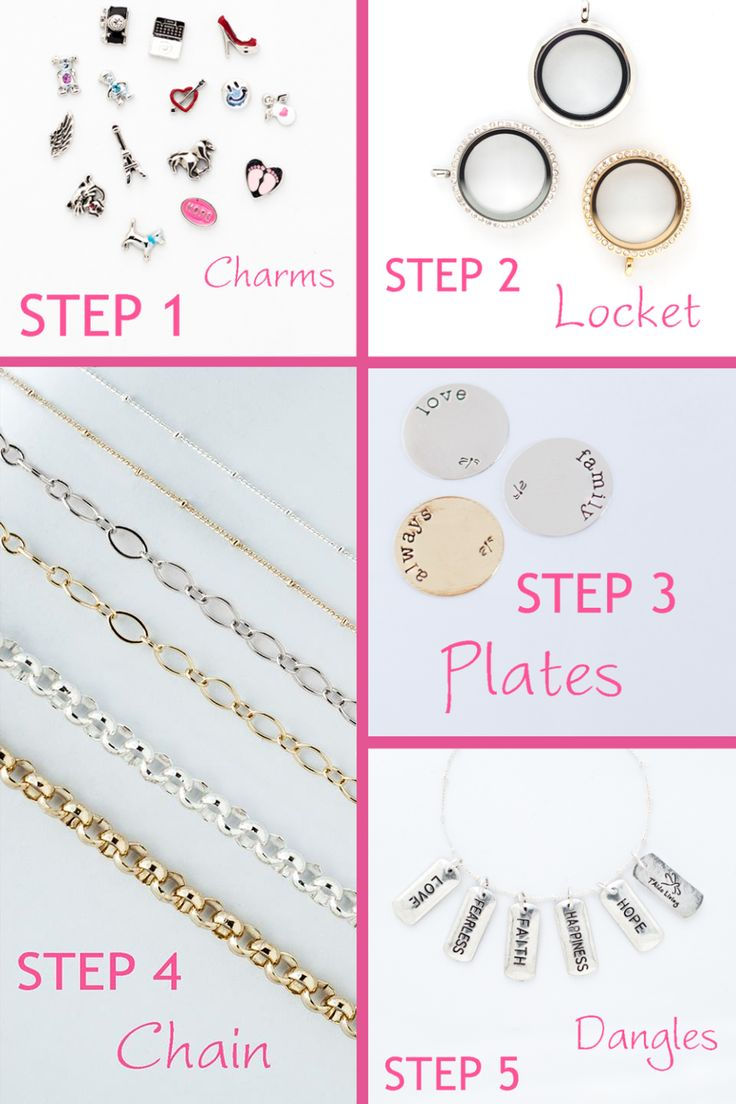 Its easy to personalise your jewellery!