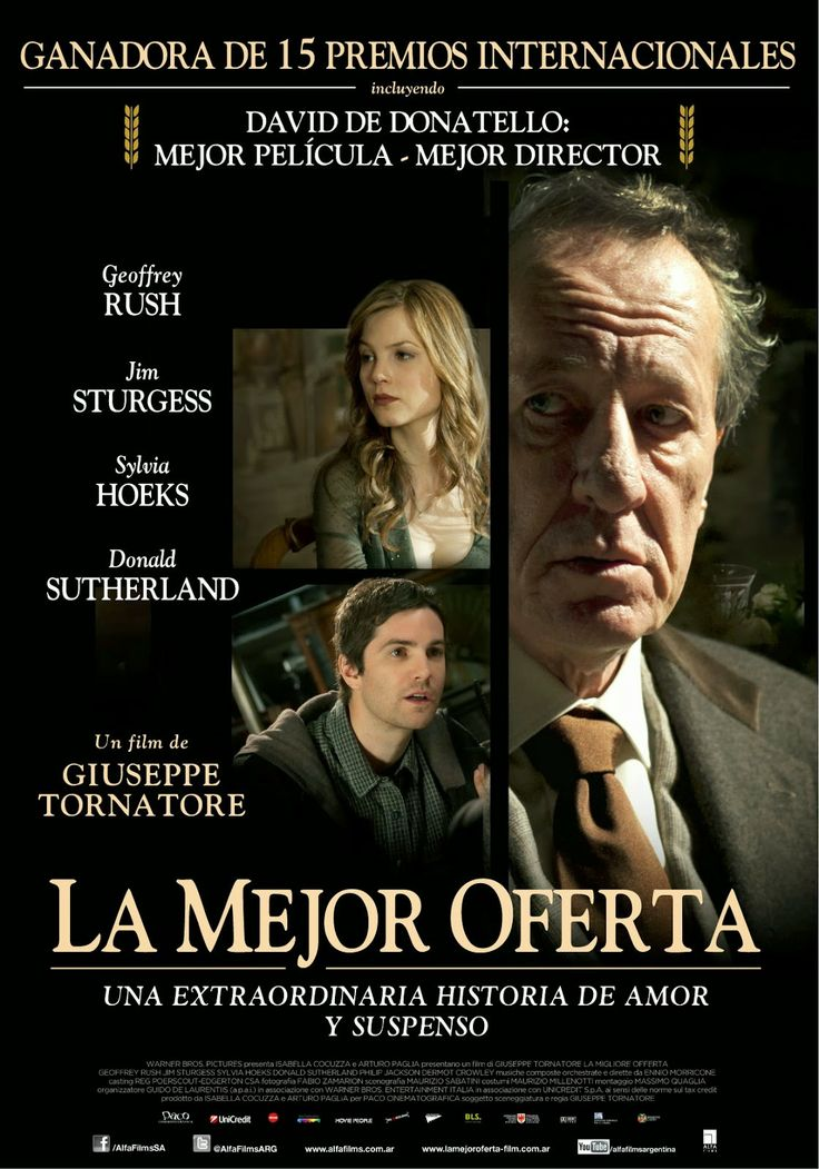 Cine Resumido: La Migliore Offerta / The Best Offer / La Mejor Of...
