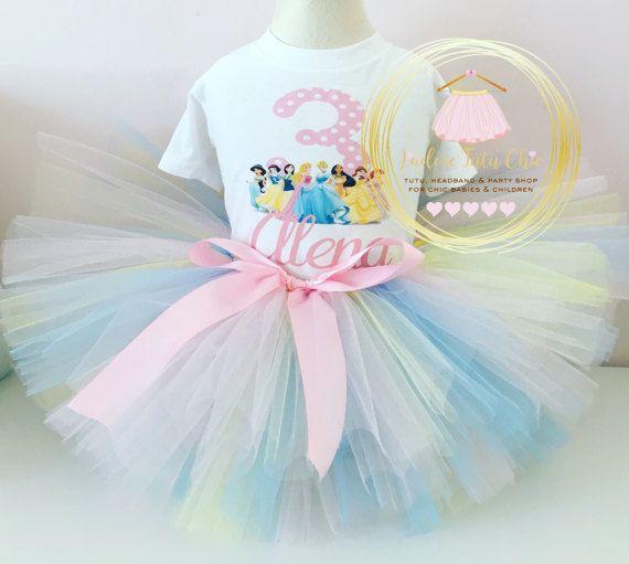 Disney princess birthday outfit  princess tutu outfit