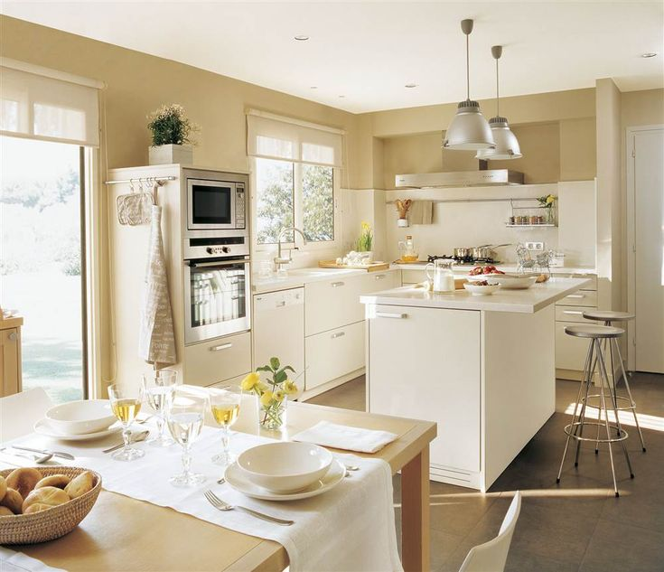 18 best Cocinas con isla images on Pinterest   Kitchens, Country ...