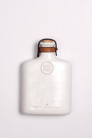 Misc Goods Co Ceramic Flask - Bridge & Burn
