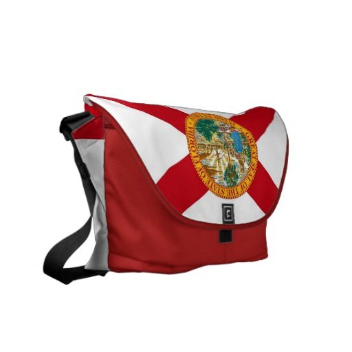 Florida State Flag Rickshaw Messenger Bag