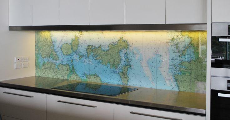 Map of the Gulf - Splashback