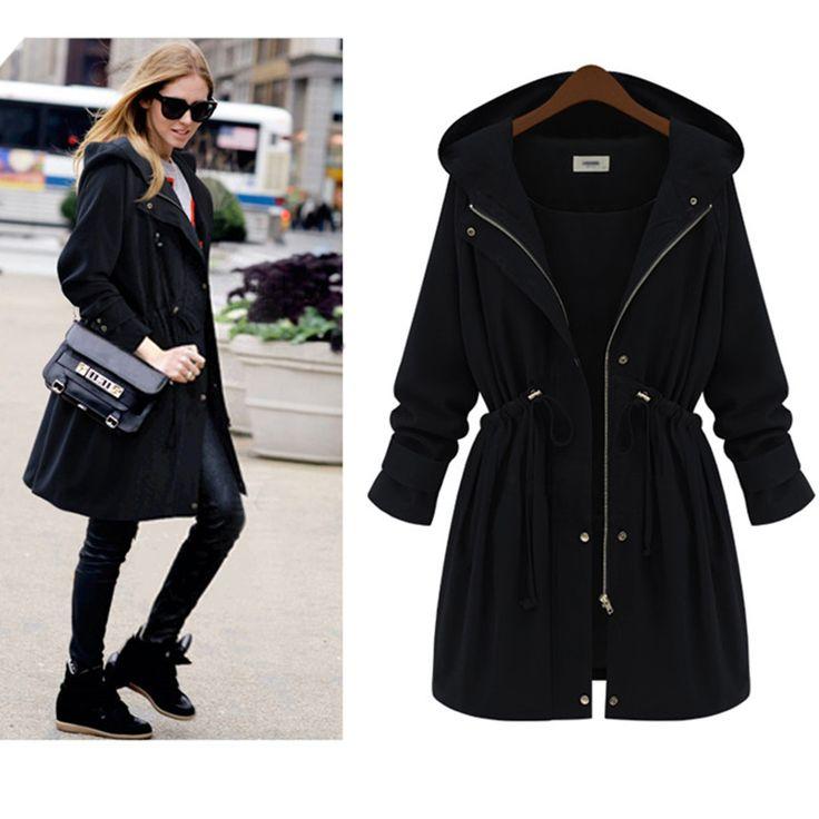 Plus Size XL-4XL Long Women Winter Coat With Hood Womens Fall Coats And  Jackets - 662 Best Women's Jackets & Coats Images On Pinterest