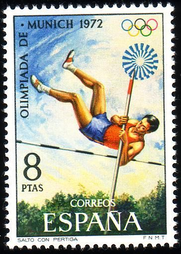 Stamp from Spain | Munich 1972, Olympic Games