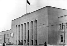 Berlin Ostbahnhof Hauptportal 1950