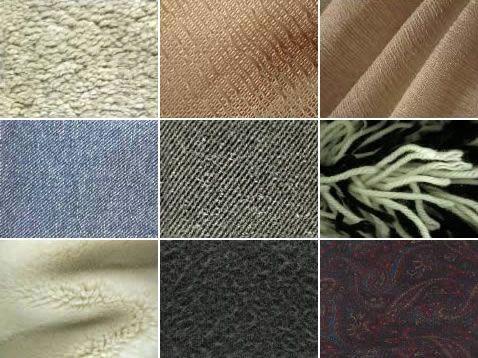 Resultado de imagen para texturas tipos de telas