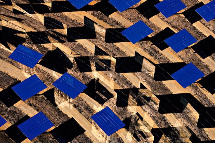 Yann Arthus-Bertrand - Solar Thermal Power Plants in Sanlúcar la Mayor