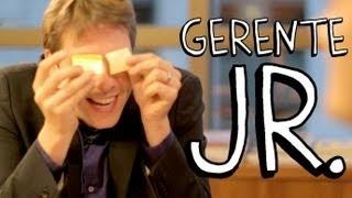 """""""Gerente Júnior"""", um dos vídeos mais divertidos do Porta dos Fundos."""
