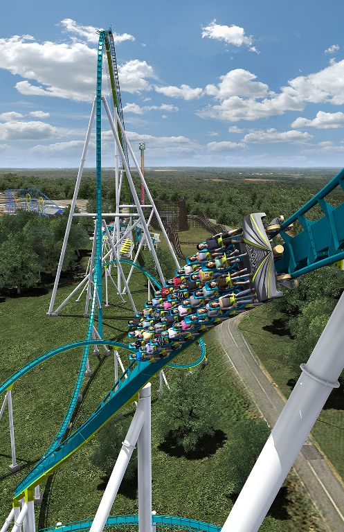 Fury 325: Carowinds Amusement Park, North Carolina