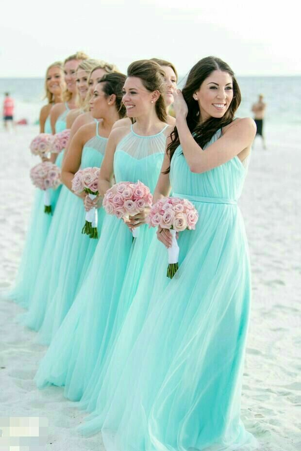 Pin By Shanna S Corner On The Wedding Into Paradise Turquoise Bridesmaid Dresses Turquoise Bridesmaid Beach Bridesmaid Dresses,Sepedi Traditional Wedding Dresses For Bridesmaids