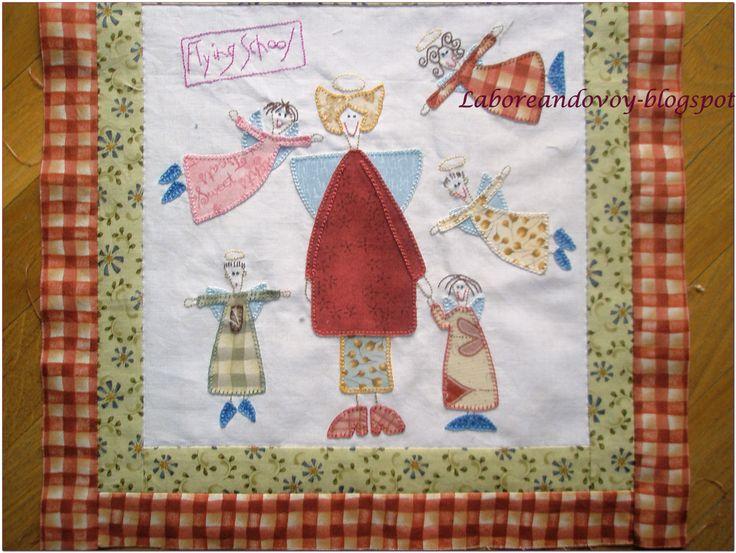 Bloque del quilt, diseñado por Anni Downs.
