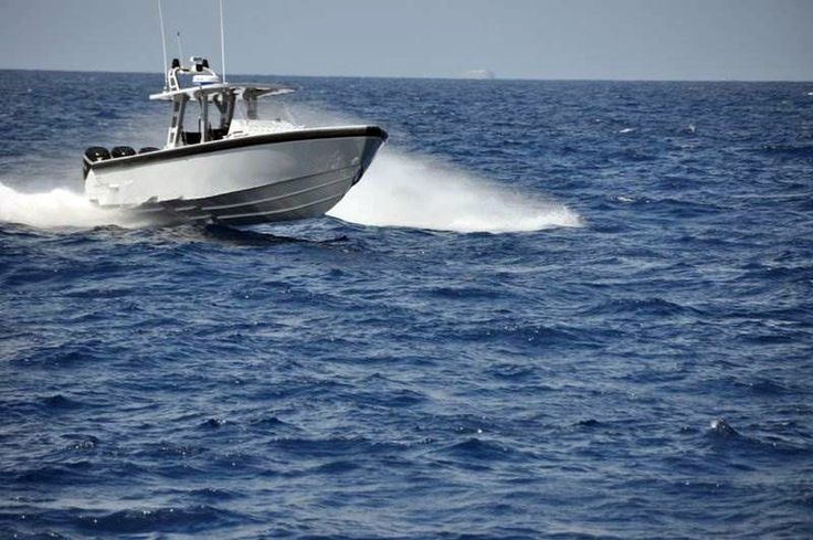 Michael Peters Yacht Design Fearless 40' Patrol Boat