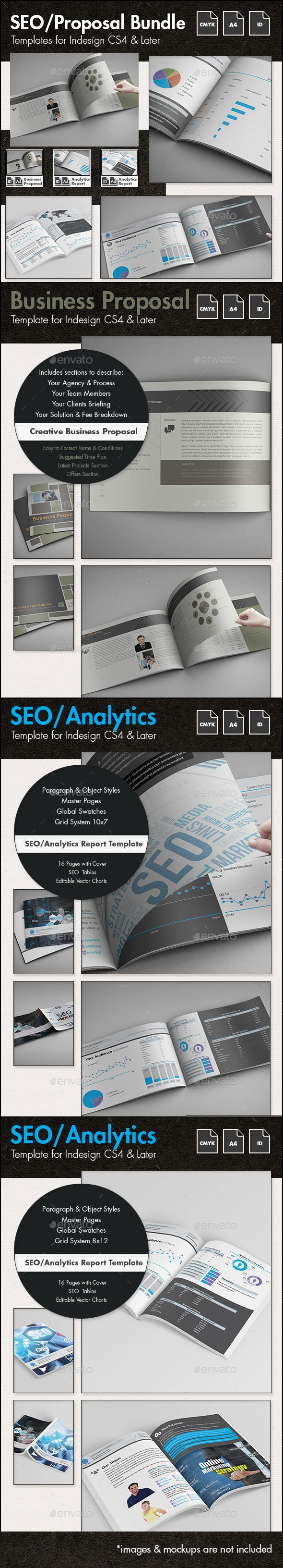 SEO Business Proposal Templates Bundle 249