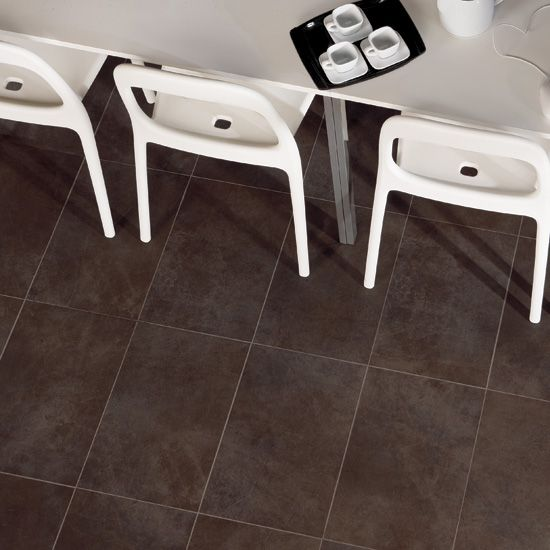 12x24 Tile Patterns For Bathrooms: This Photo Features Eastside Brown 13 X 20 Field Tile In A