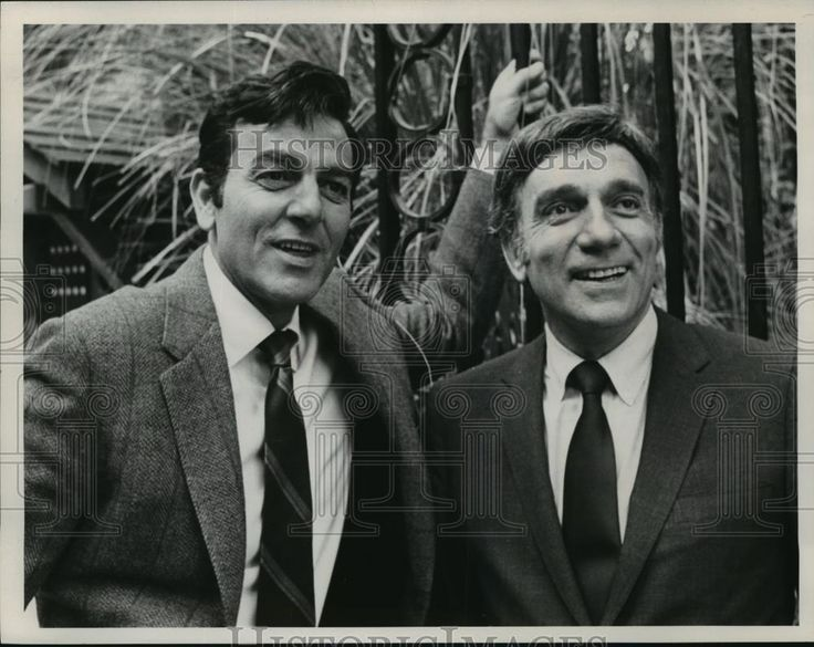 1970 Press Photo Mike Connors, United States actor - mjx22846