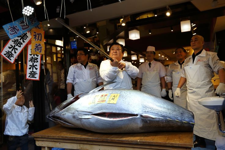 """The Governor of Tokyo is moving the capital's famous fish market and may transform the site into a """"food theme park"""" in the future."""