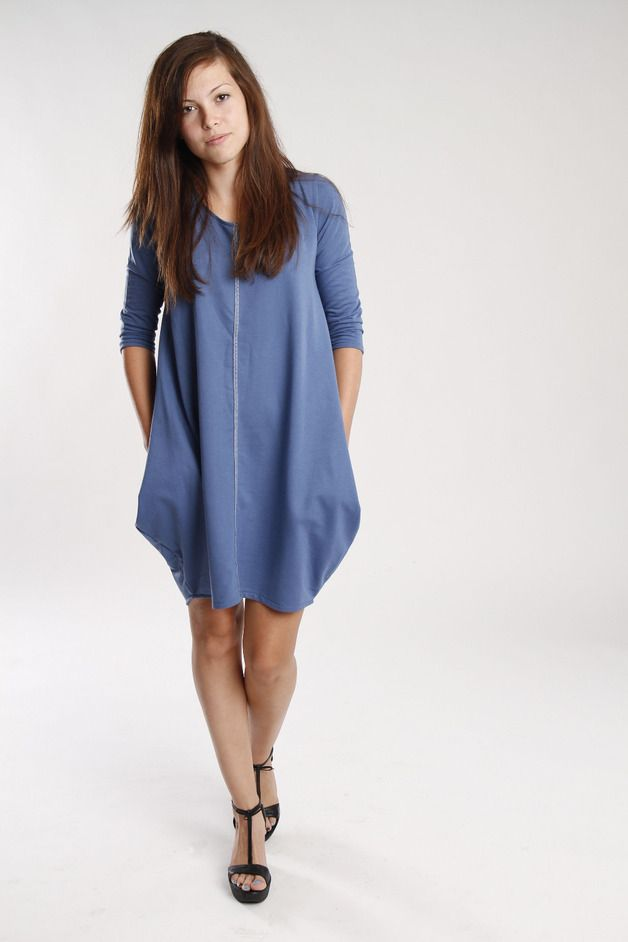blue corn - kukadesign - Sukienki dresowe